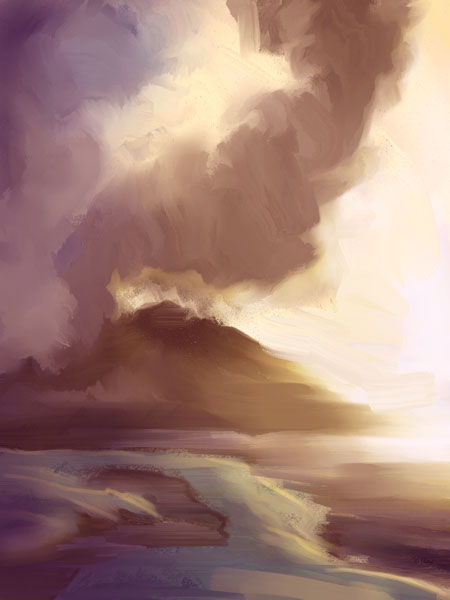 quick landscape studies