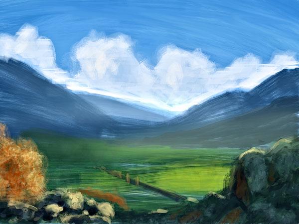 quick landscape studies